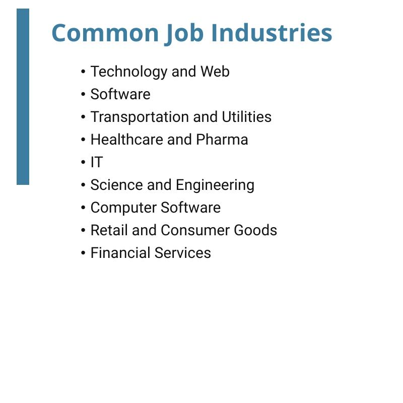 Common-Job-Industries